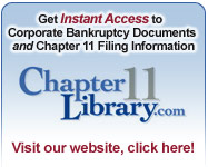 Bankruptcy Reorganization Chapter 11